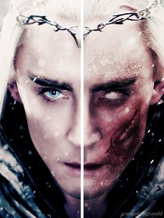 """Thranduil """"Do not talk to me of dragon fire. I know its wrath and ruin."""" This…"""
