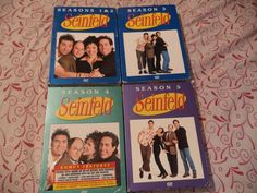Seinfeld Seasons 1-5 DVD Box Sets