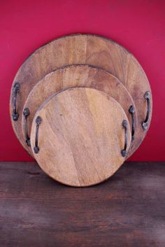 Breanna Bread Boards (Set of 3). Diy bread boards would make beautiful gifts!!