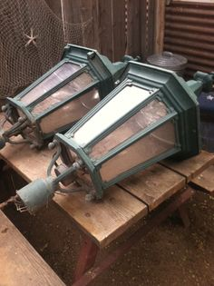 Street Lamp Tops. I just picked these up. They are very large. Not sure whats next for them