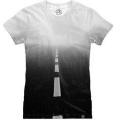 #road #blackandwhite #nuvango #tshirt #t-shirt