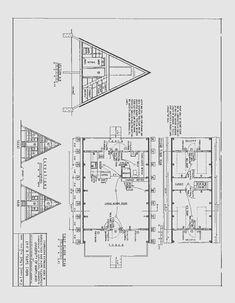 24' A-Frame Cabin Plans