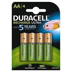 Oferta: 9.25€ Dto: -35%. Comprar Ofertas de Duracell HR06-P - Pack de 4 pilas recargable alcalina AA, color verde y dorado barato. ¡Mira las ofertas!