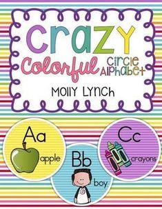 Crazy Colorful Circl