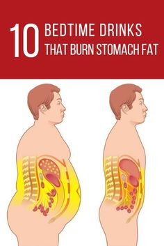 10 BEDTIME DRINKS THAT BURN STOMACH FAT. The fat deposits in the abdominal area are something that no one desired, but despite looking unattractive, belly fat also poses serious health risks.