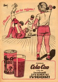 Publicidad de Cola Cao