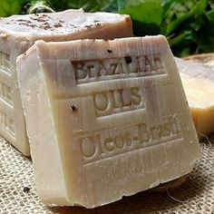 Handcrafted Brazilian Oil Soap with Organic Acai Berry Butter - Brazil Nut Butter 7 oz Bar - Natural Handmade! Organic Butter, Organic Soap, Natural Makeup Remover, Soap Maker, Acai Berry, Vegan Soap, Soap Recipes, Nut Butter, Brazil Nut
