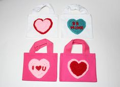 #valentinesday #partyfavorbags #giftbags #treatbags #goodiebags