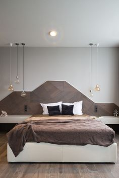 றƤ... HEADBOARD DESIGN IDEA - Create A Landscape Design From Wood