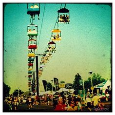 the state fair gondola The Places Youll Go, Places To Go, Minnesota State Fair, The Buckeye State, Columbus Ohio, Art Photography, World, Pictures, Travel