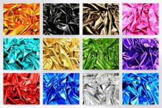 Metallic Lycra Stretch Dress Fabric (METL-M)