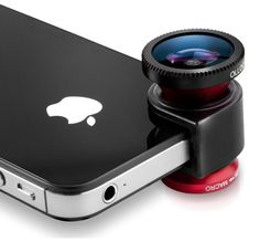 The olloclip turns your iPhone into DSLR.