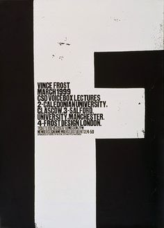 Vince Frost | Advanced Type Project