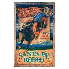 Rodeo Wall Art - PP-965L