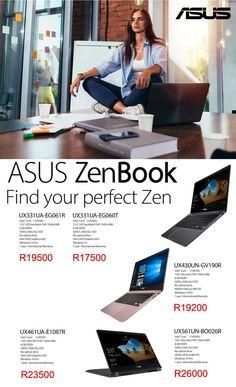 Asus Zenbook Specials