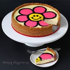Decorated Daisy Cheesecake - Plus,
