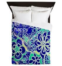 Be HAPPY Queen Duvet
