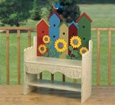 Birdhouse Bench Woodworking Plan - The Best Image Search