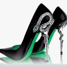 sapphire Blue Creative heels.