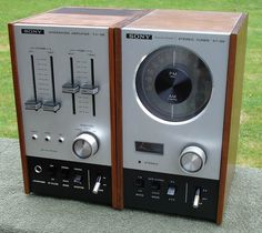 Sony TAST88 matching amp and tuner combo