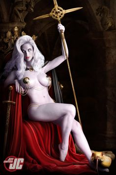 Lady Death Throne by Jeffach.deviantart.com on @deviantART