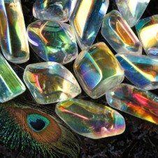 Freeform angel aura quartz