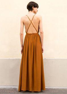 #newarrivals #FaithfulltheBrand #SantaRosa #Rust #Maxi #sleeveless #Dress #thefrankieshop #frankiegirl Faithfull the Brand Santa Rosa Maxi Dress – The Frankie Shop