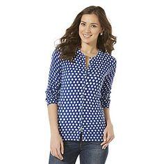 Covington Women's Knit Cardigan - Dot Print