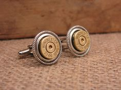 SureShot Jewelry - Brass 30-06 Bullet Casing Cuff Links