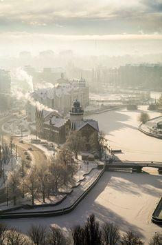 Калининград, зима 2016