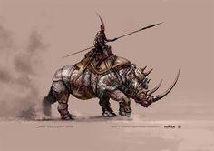 Age of Conan - Hyborian Adventures concept art //last page update 09. July 2008//