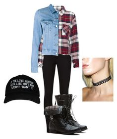 """Come 90s come back!"" by crazygirlandproud ❤ liked on Polyvore featuring J Brand, Rails, Acne Studios and 3AM Imports"