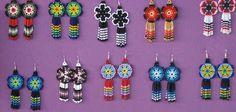 ojibwe beadwork patterns | beaded-earrings
