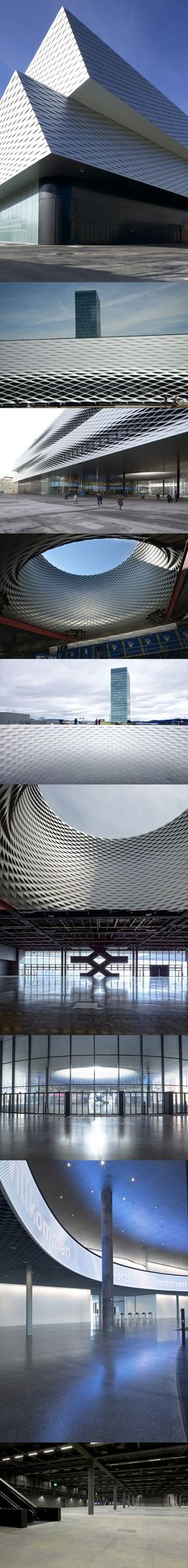 Neue Messe Hall Basel 2013
