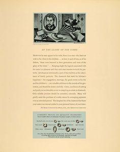 1940 De Beers ad