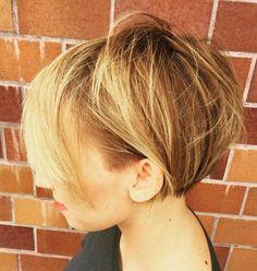 Short Messy Bob Hairstyle