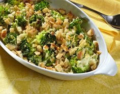 This is one of our most popular recipes: Better-For-You Broccoli Parmesan Au Gratin with Birds Eye Steamfresh Broccoli Florets.