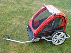 A louer remorque vélo pour 1 ou 2 enfants, pliable et démontable de marque JAGO…