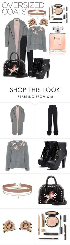 """""""Oversized Coats"""" by elloracat ❤ liked on Polyvore featuring Mother of Pearl, Jacquemus, RED Valentino, Miss Selfridge, STELLA McCARTNEY and Les Néréides"""