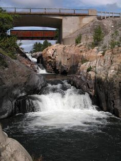 One of my favorite places-Whitefish Falls Canada Canada Travel, Canada Trip, Manitoulin Island, Lake Huron, Whitefish, Newfoundland And Labrador, Largest Countries, Ontario, North America