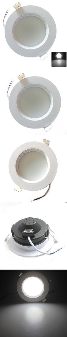 Smuxi Ac85-265v Led Ceiling Light 12w Body Sensing Round Square Shape Led Down Light Ceiling Recessed Spot Light Neither Too Hard Nor Too Soft Ceiling Lights Ceiling Lights & Fans