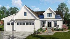 Modern 3-bed Farmhouse Plan with Split Bedrooms - 62725DJ thumb - 01