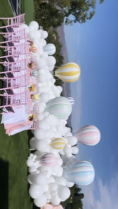 Gender Reveal Party Decorations, Birthday Balloon Decorations, Baby Shower Decorations, Birthday Party Themes, Deco Baby Shower, Baby Shower Balloons, Baby Shower Themes, Pastell Party, Baby Girl Birthday