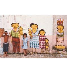 Família brasileira 2004 #osgemeos #cambuci #saopaulo #brasil