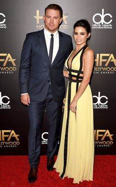 Channing Tatum & Jenna Dewan-Tatum from 2015 Hollywood Film Awards | E! Online