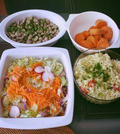 Carbos complejos, vegetales y protes