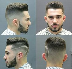 25 Different Cool Haircuts & Hairstyles for Men and Guys – Hairstyles 2018 Modern Haircuts, Cool Haircuts, Hairstyles Haircuts, Haircuts For Men, Rock Style, Cut And Style, Hair And Beard Styles, Hair Styles, Beard Grooming