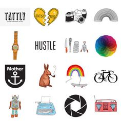 Fab.com | Tattly Temporary Tattoos Sampler