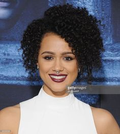 Actress Nathalie Emmanuel arrives at the Premiere Of HBO's 'Game Of Thrones' Season 6 at TCL Chinese Theatre on April 10, 2016 in Hollywood, California.