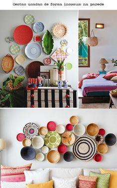 Colacorelinha por Ma Stump » Arquivos » Toque natural: cestarias na decoração
